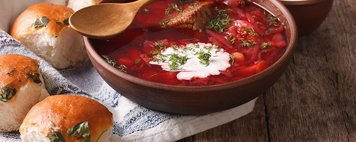 Borscht Recipe With Meat Dinenation